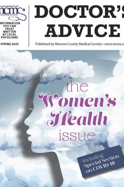 Doctor's Advice - Spring 2020 Cover